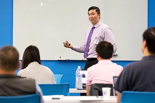 Chris Deng Teaching