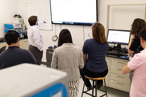 Class in Lab