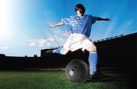Soccer Bowling Ball