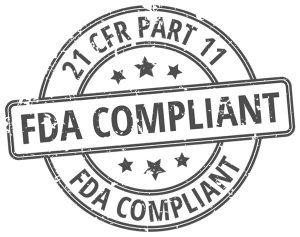 21 CFR Part 11 FDA Compliant