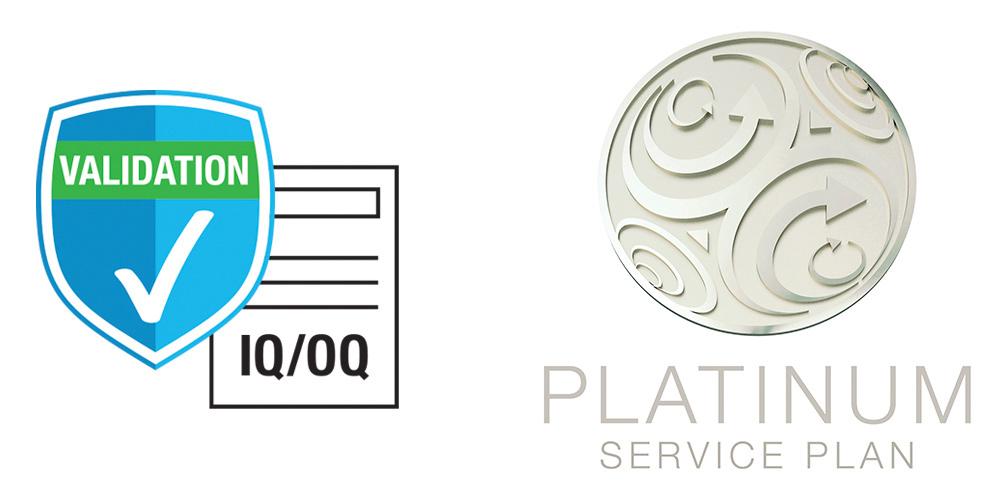 IQ/OQ Platinum Plan Icons